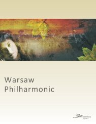 Warsaw Philharmonic Keynotes:Layout 1.qxd - State Theatre