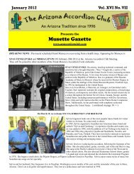 January 2012 - Arizona Accordion Club