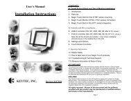 User's Manual - Keytec, Inc.