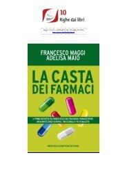 la casta dei farmaci - 10 Righe dai libri