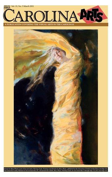 Vol. 15, No. 3 March 2011 - Carolina Arts