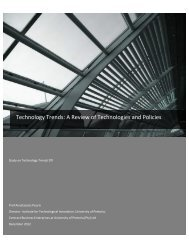 Technology Trends - Department of Trade and Industry