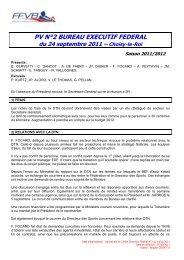 PV 2 - 24 septembre 2011 - Extranet FFVB