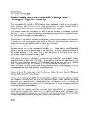 Report April 2013 - ESRI