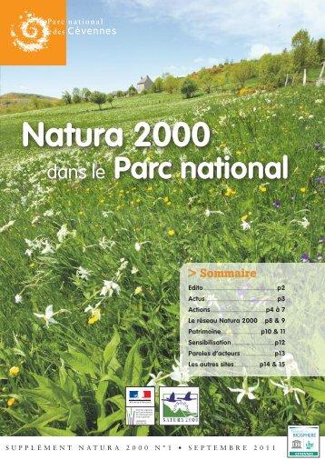 supplément Natura 2000 - n° 1 - Parc National des Cévennes