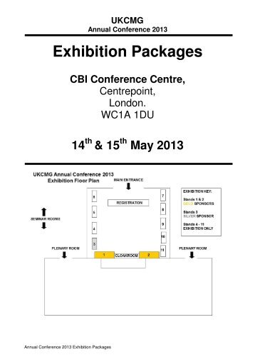 Exhibition Packages - PDF - UKCMG