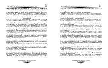 Decreto que Establece los Lineamientos a que se Sujetarán ... - Ieepo