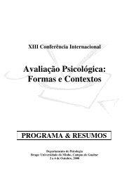 Programa - Universidade do Minho