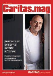 Avoir un toit, une porte ouverte à l'espoir - Caritas Fribourg