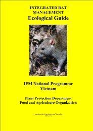 Ecological Guide for Integrated Rat Management