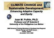 2. Enhancing Adaptive Capacity and Equity