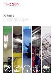 X-Force luminaires - Thorn Lighting