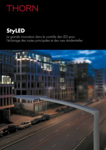 Download StyLED brochure [PDF/1MB] - THORN Lighting