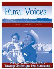 Farmworker Housing: Turning Challenges into Successes (Summer ...