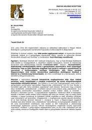 itt - Magyar Helsinki Bizottság