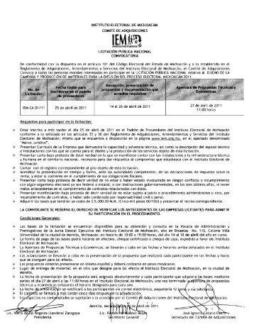 Untitled - Instituto Electoral de Michoacán