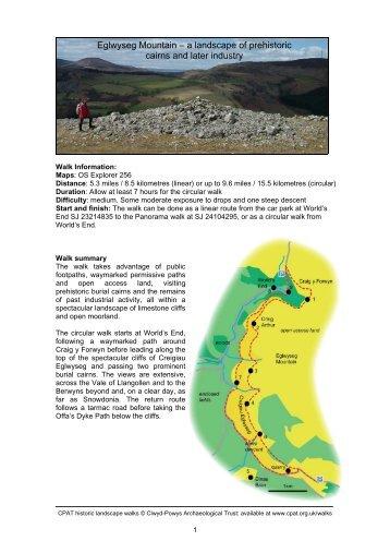 Eglwyseg - Clwyd-Powys Archaeological Trust