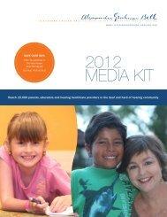 MEDIA KIT 2012 - Alexander Graham Bell Association