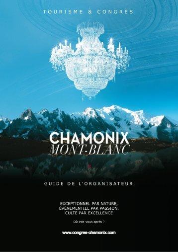 Guide de l'Utilisateur - Chamonix Congrès