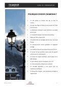 Guide de l'Utilisateur - Chamonix Congrès - Page 3