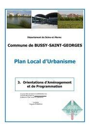 1. ORIENTATIONS D'AMENAGEMENT ET DE ... - Le Renard