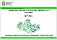 S.P. 151 - Provincia di Monza e della Brianza