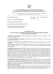 SR-S-2157 (7.1) dėl švelniakailių žvėrelių (kanadinių audinių) - RAAD