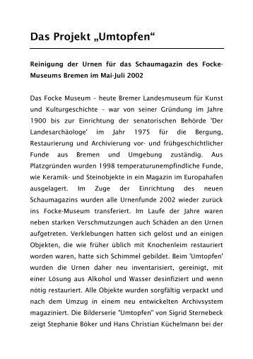 Text der Schautafel Urnenreinigung (PDF) - Binnenduene.de