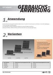 CLIP-Verbinder GEBRAUCHS- ANWEISUNG - Rohrmotor24