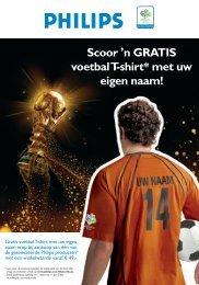 Scoor , n GRATIS voetbal T-shirt* met uw eigen naam! - Wehkamp.nl