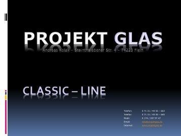 classic - line - PROJEKT GLAS