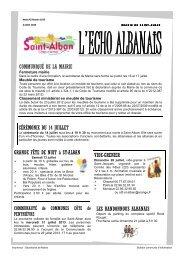 N° 1016 du 2 juillet 2013 - Saint-Alban