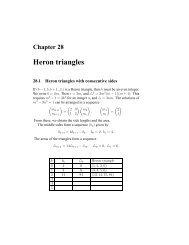 Heron triangles