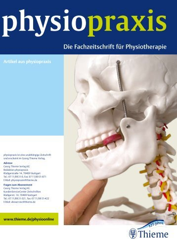 Physiopraxis. - Gesundheit