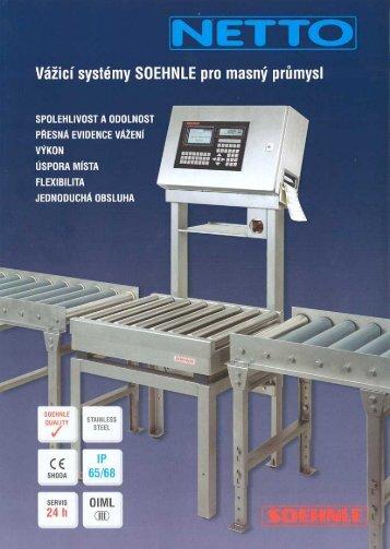 prospekt terminál pro masný průmysl CZ
