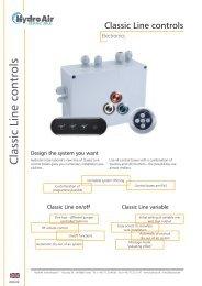 Classic Line controls - Balboa Water Group