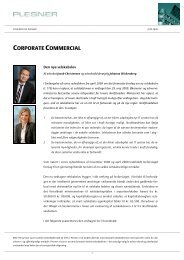 CORPORATE COMMERCIAL - Plesner