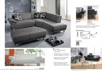 modern living Modell CORA 2059 Zusammenstellung - Moebel ...
