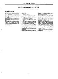 le3 - jetronic system - BerlinaSportivo
