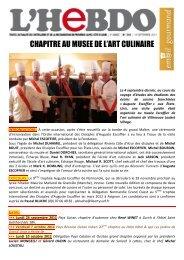 chapitre au musee de l'art culinaire - A Taste of France with Chef ...