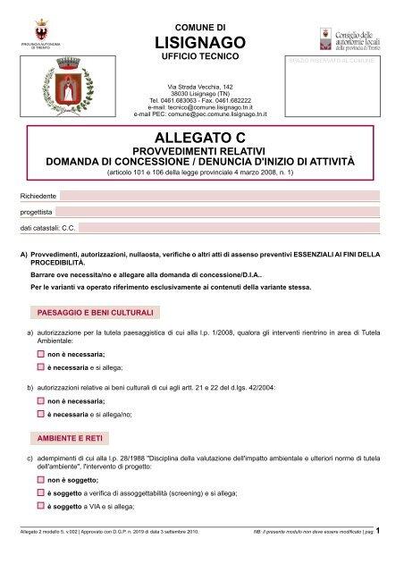 05. Allegato C - Comune di Lisignago