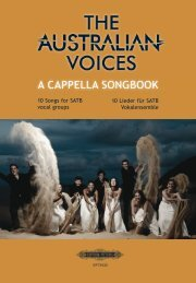 Australian Voices A Cappella Songbook - Sheet Music Publishers