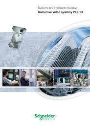 Pelco kamerové systémy ČJ - Schneider Electric CZ, s.r.o.