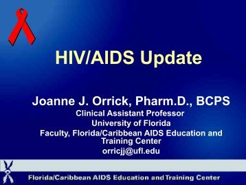 HIV/AIDS Update - Free CE Continuing Education online pharmacy ...