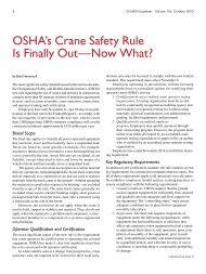 OSHA's Crane Safety Rule Is Finally Out—Now What?