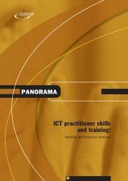 ICT practitioner skills and training: - Europa