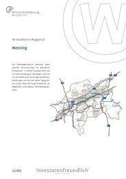 Westring - Wirtschaftsförderung Wuppertal