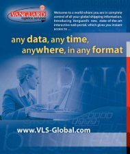 With Vanguard's NEW interactive web-based technology, we can ...