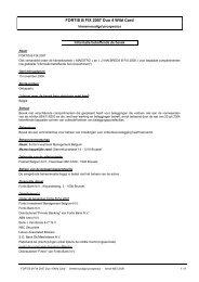 FORTIS B FIX 2007 Duo 4 Wild Card - BNP Paribas Investment ...
