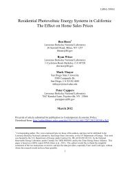 PDF - Electricity Market and Policy - Lawrence Berkeley National ...